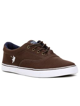 Tenis-Casual-Masculino-Polo-Shoes-Vintage-Marrom
