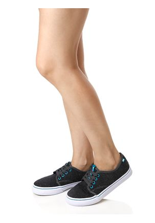 Tenis-Casual-Feminino-Freeday-New-For-Star-Cinza