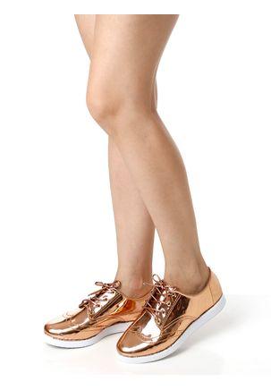 Sapato-Oxford-Feminino-Metalico-Cobre