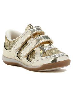 Tenis-Infantil-para-Bebe-Menina---Dourado