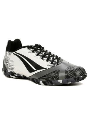 Tenis-Futsal-Masculino-Penalty-Victoria-Rx-Branco-cinza-preto