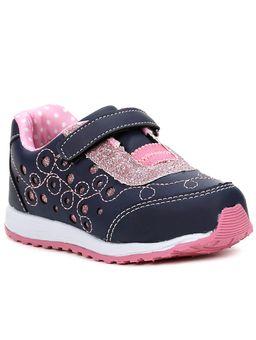 Tenis-Infantil-Para-Bebe-Menina---Azul-rosa