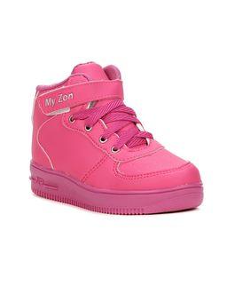 Tenis-Casual-Infantil-Para-Bebe-Menina---Rosa-pink