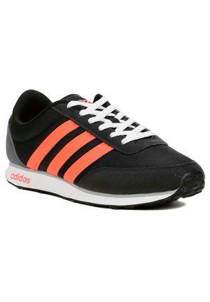 Tenis-Casual-Esportivo-Masculino-Adidas-Racer-Preto-laranja