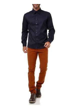 Camisa-Manga-Longa-Masculina-Bivik-Azul-marinho