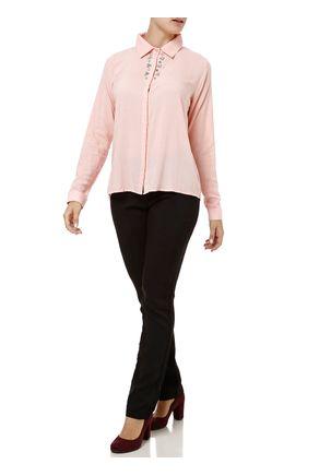 Camisa-Manga-Longa-Feminina-Autentique-Rosa