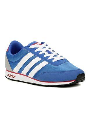 Tenis-Casual-Esportivo-Masculino-Adidas-Racer-Azul-branco-vermelho