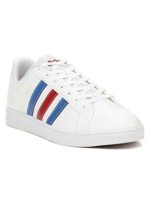 Tenis-Casual-Masculino-Adidas-Advantage-Vs-Vermelho-azul