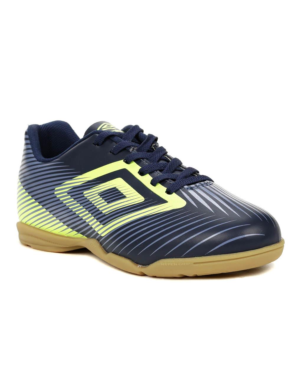 06cf4fb4b3c Tênis Futsal Masculino Umbro Speed Ii Azul marinho verde - Lojas Pompeia