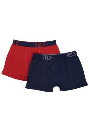 Kit-com-02-Cuecas-Boxer-Masculinas-Vels-Vermelho-azul-marinho