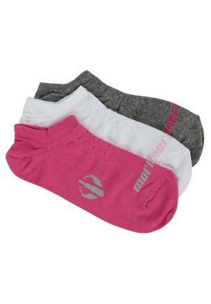 Kit-com-03-Meias-Femininas-Mormaii-Rosa-branco-cinza