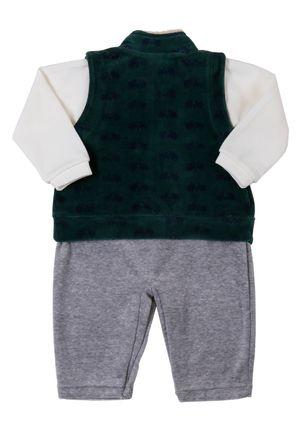 Macacao-Infantil-Para-Bebe-Menino---Cinza-verde