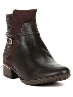 Bota-Ankle-Boots-Feminina-Comfortflex-Marrom-escuro