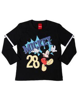 Camiseta-Manga-Longa-Infantil-Disney-Para-Menino---Preto