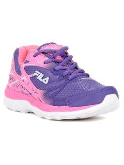 a4c2174caf Tênis Esportivo Fila Infantil Para Menina - Rosa roxo