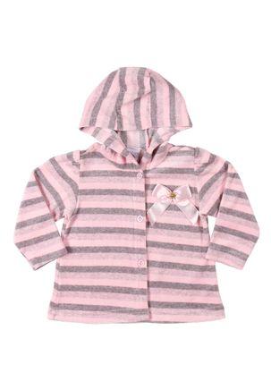 Jaqueta-Infantil-Para-Bebe-Menina---Rosa