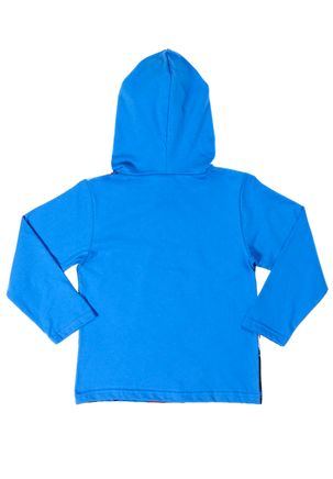 Camiseta-Manga-Longa-Justice-League-Infantil-para-Menino---Azul