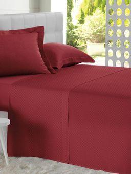 Lencol-Avulso-Queen-Altenburg-All-Design-Bege-Branco-Vermelho
