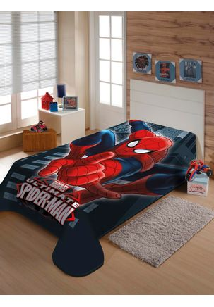 Cobertor-Solteiro-Jolitex-Raschel-Disney-Azul