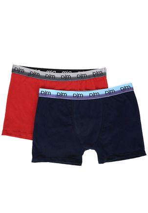 Kit-com-02-Cuecas-Masculinas-Boxer-Vermelho-azul
