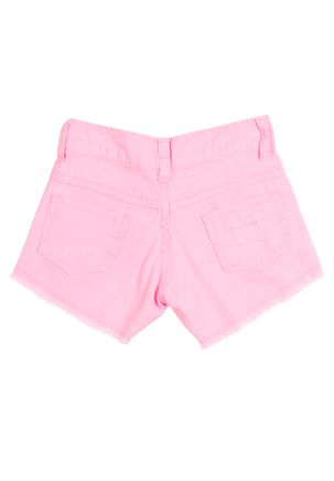 Short-Infantil-Para-Menina---Rosa