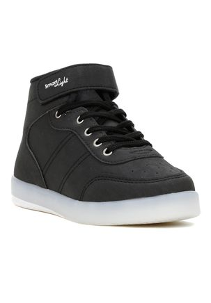 Tenis-Casual-Kidy-Smart-Light-Infantil-Para-Menino---Preto