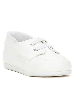Sapato-Infantil-Para-Bebe-Menino---Branco