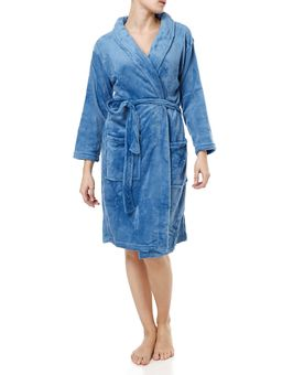 Roupao-Atoalhado-Feminino-Corttex-Home-Design-Azul