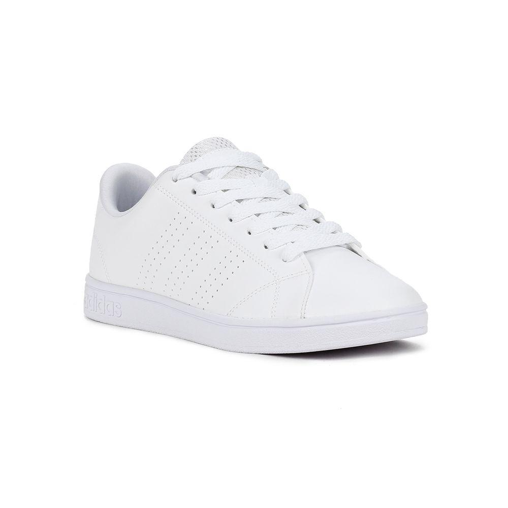 3d2497616e Tênis Casual Feminino Adidas Advantage Clean Branco - Lojas Pompeia