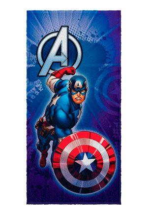 Toalha-de-Banho-Infantil-Lepper-Avengers-Azul