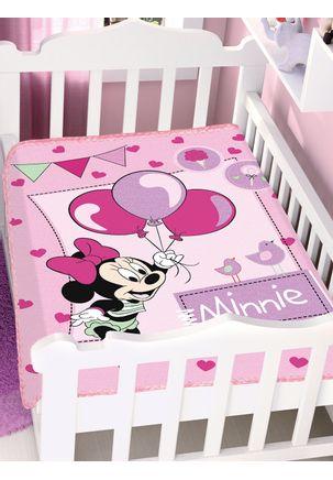 Cobertor-Bebe-Jolitex-Raschel-Disney-Rosa