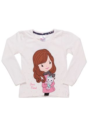 Blusa-Manga-Longa-Infantil-Para-Menina---Rosa