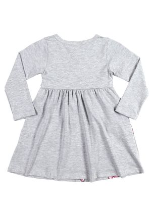 Vestido-Disney-Infantil-Para-Menina---Cinza