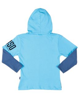 Camiseta-Manga-Longa-Infantil-Para-Menino---Azul-claro
