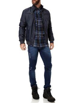 Camisa-Manga-Longa-Masculina-Flanela-Azul-preto
