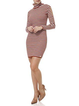Vestido-Curto-Feminino-Telha