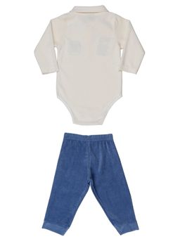 Conjunto-Infantil-Para-Bebe-Menino---Off-white-azul