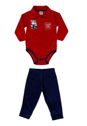 Conjunto-Infantil-Para-Bebe-Menino---Vermelho-azul-marinho