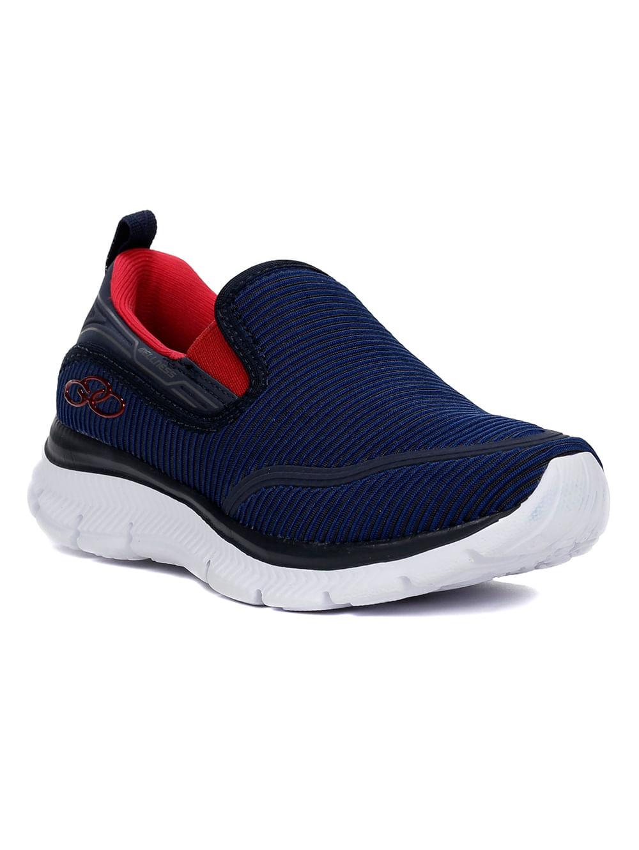 66806bc875 Tênis Olympikus Wellness Infantil para Menino - Azul marinho vermelho