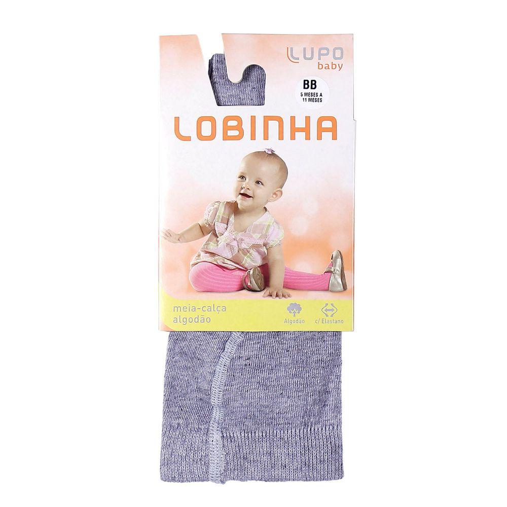 Meia-Calça Lupo Infantil Para Menina - Cinza - Lojas Pompeia 61bc392757