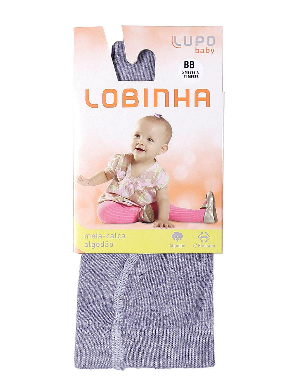 1d9967f4a Meia-Calça Lupo Infantil Para Menina - Cinza - Lojas Pompeia