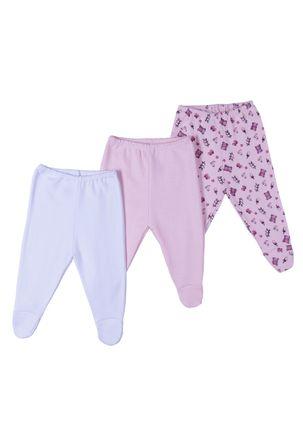 Kit-com-03-Calcas-Infantil-Para-Bebe---Rosa-branco