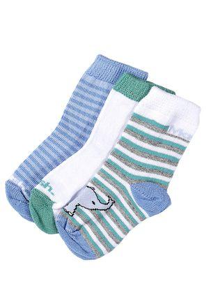 Kit-com-03-Meias-Infantil-para-Bebe---Azul-verde