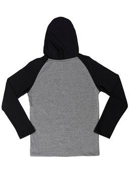 Camiseta-Manga-Longa-Full-Surf-Juvenil-para-Menino---Cinza-preto