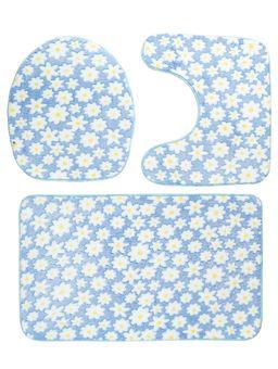 Jogo-Banheiro-Realce-Fleece-Azul