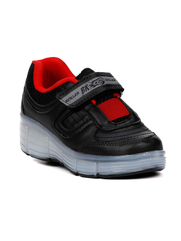 cdcdc294f1f Tênis Casual Brink Roller Evolution Infantil Para Menino - Preto vermelho