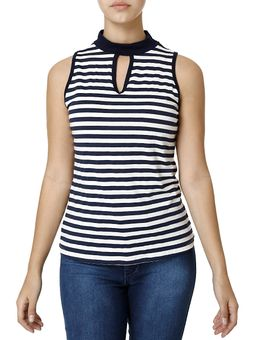 Blusa-Regata-Feminina-Azul-marinho-branco