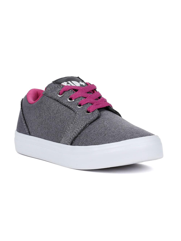ebd9e052185 Tênis Kid + Infantil para Menina - Cinza rosa - Lojas Pompeia