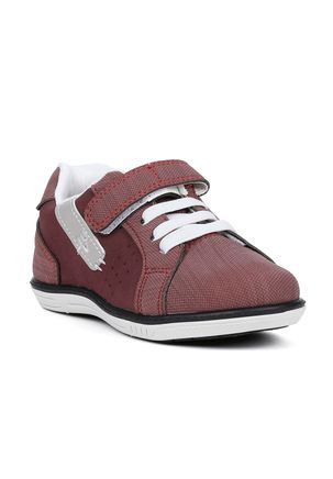 Sapato-Infantil-para-Bebe-Menino---Vermelho-cinza