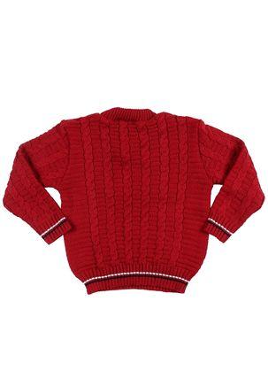 Sueter-Infantil-Para-Bebe-Menino---Vermelho